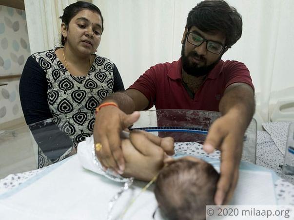 Help Baby of Indira Pallavi Recover