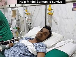 Help Mridul Barman To Survive From Brain Hemorrhage