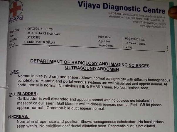 Help My Son Harishankar For Kidney Transplant
