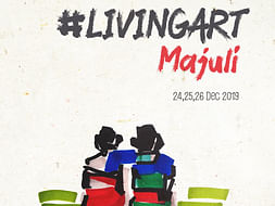 #livingart2019-Community Engagement Initiative -Majuli