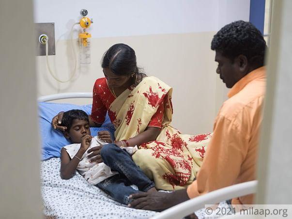 Help Karthik Undergo VSD Closure
