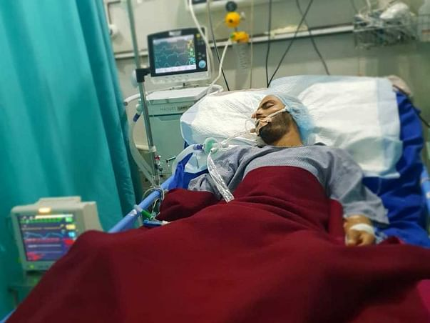 URGENTLY HELP SYED FR RIGHT HAND DISABILITY AND PUT SKULL COVER FOR BR