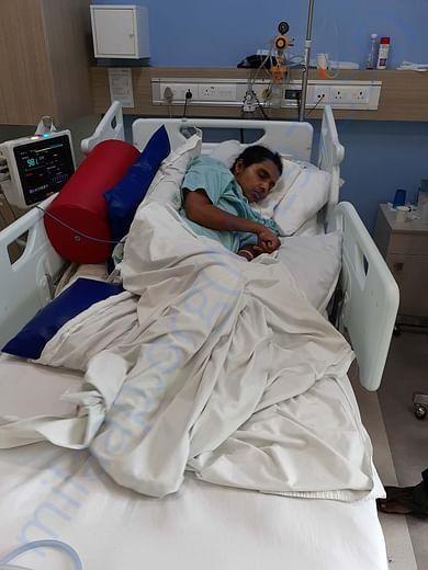 Preeti in Hyderabad hospital