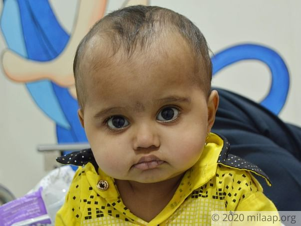 Help 1 Year Old Samarth Recover