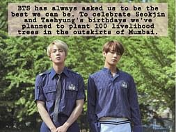 Trees for Tae & Jin
