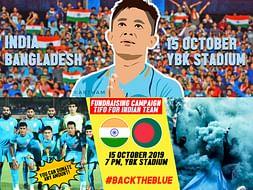 Contribute for Tifo - INDIA vs BANGLADESH WC Qualifier