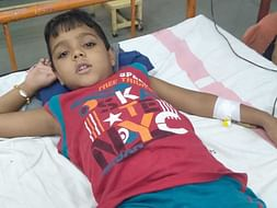 6 Years Old Touseer Needs Your Help To Fight Against Thalassemia