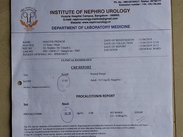 Help Baby Prem for Kidney Dialysis