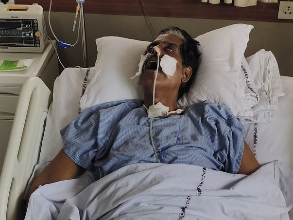 Help My Father Fight Brain Infection.