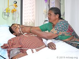 Help Vijay Recover From A Fatal Accident