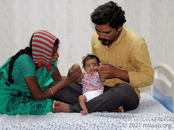 Help Baby of Laxmi Fight Congenital Heart Disease