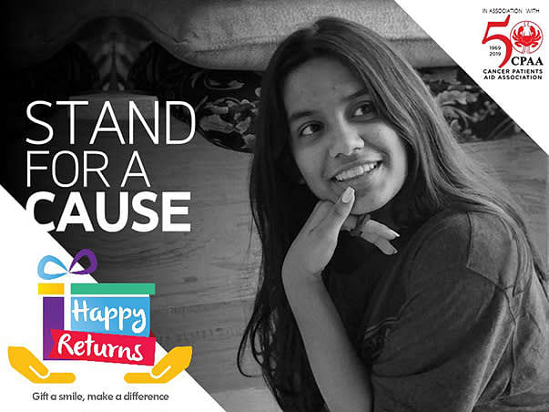 Help Kashish Raise Funds For Patients Battling Breast Cancer