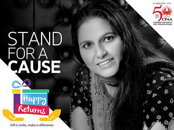 Help Nilam Raise Funds For Patients Battling Breast Cancer