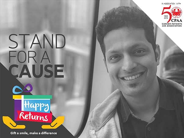 Help Rahul Raise Funds For Patients Battling Breast Cancer