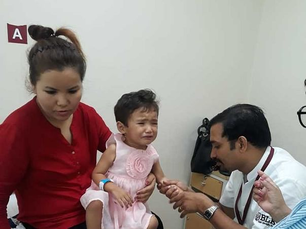 Help 2-yr-old Recover From Stage 3 Kidney Tumour, #Make_Humanity_Alive