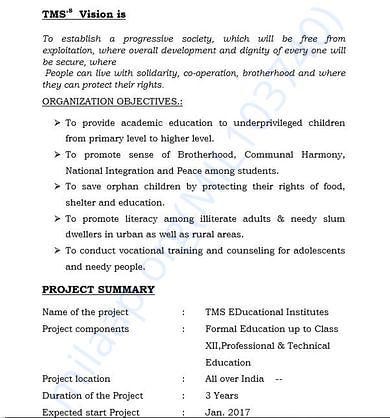 document 3 detailed estimation letter