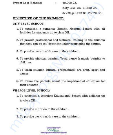 document 4 detailed estimation letter