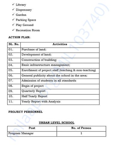 document 14 detailed estimation letter