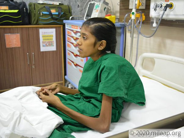 Help Shahnaz Recover From Kyphoscoliosis