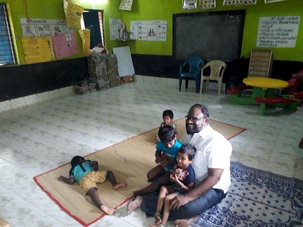 Donate Gas Stove and Floor Mats for Anganwadi School
