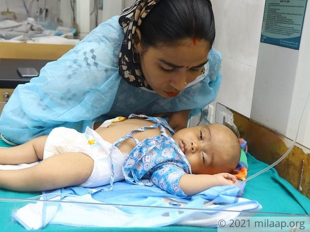 Help Kunal Recover From Rachisiasis & Ventriculitis