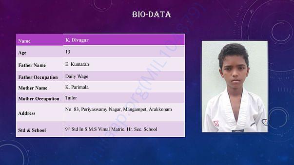 Divakar profile