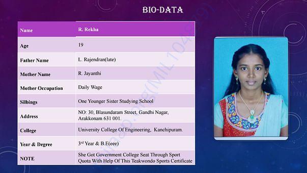 Rekha profile