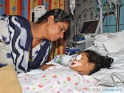 Help Harshitha Recover From Brain Fever