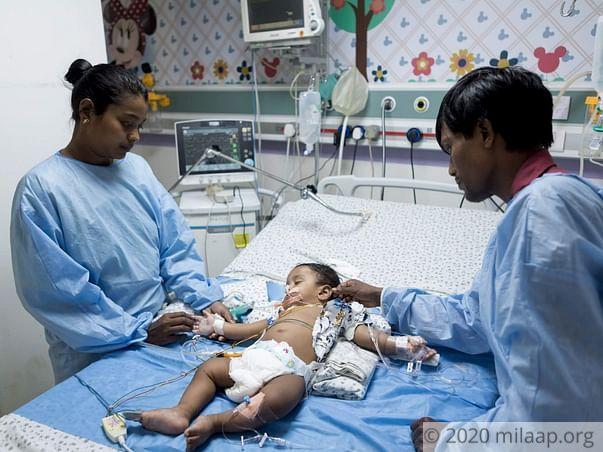 Help Sirisha's Baby Fight Acute Febrile Encephalopathy