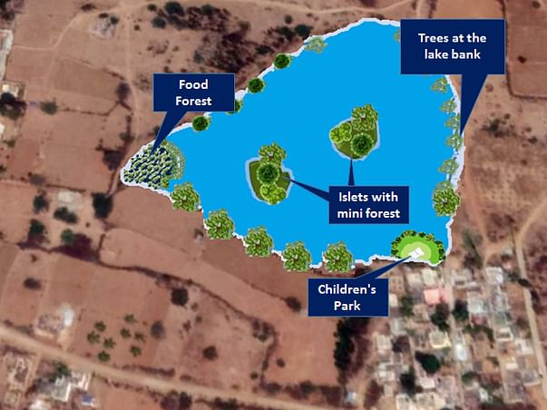 Wake Ajjappanahalli Lake
