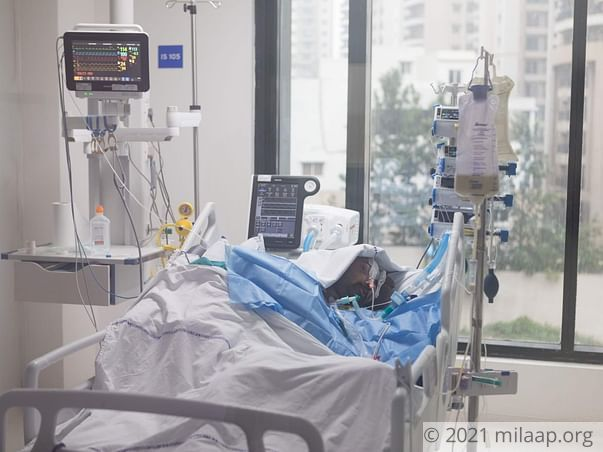 Help Harish Recover From A Fatal Road Traffic Accident