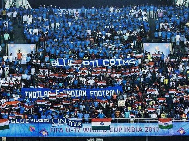 Blue Pilgrims Collaboration Tifo Fund - INDIA vs Bangladesh.