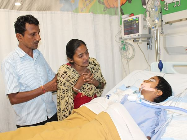 Help My Son Deekshith for His Kidney Transplant