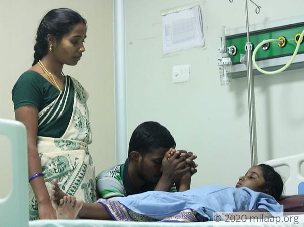 Help Mathumetha Fight End Stage Liver Disease and Undergo A Transplant
