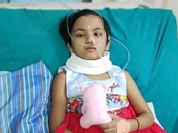 8 yrs old Gungun struggling for survival with her Brain Tumor