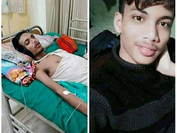 Help My Relative Iftikar Alom Fight Paralysis