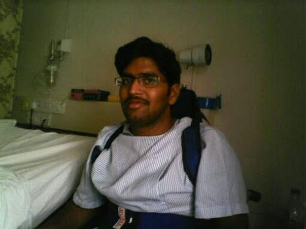 Help shashank to walk again