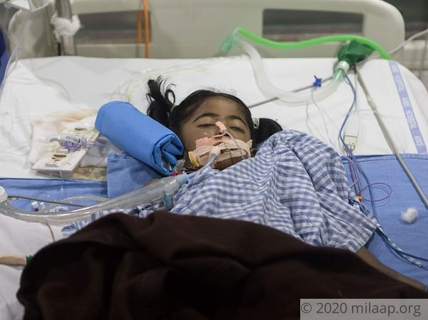 Help Bhavana Recover From Dengue And Multi-Organ Failure