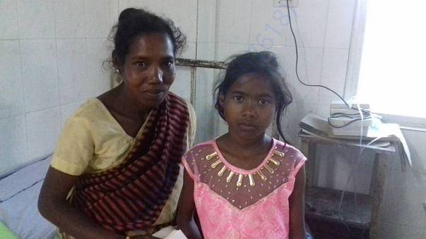 Photographs of Beronika and her mother