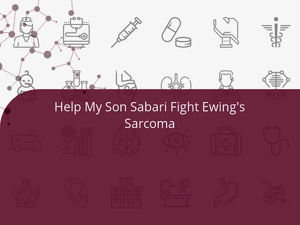Help My Son Sabari Fight Ewing's Sarcoma