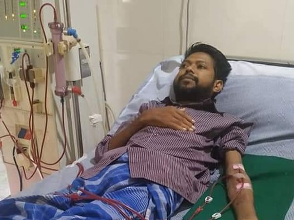38 years old Sheik nazeer needs your help fight End Stage Renal Disease