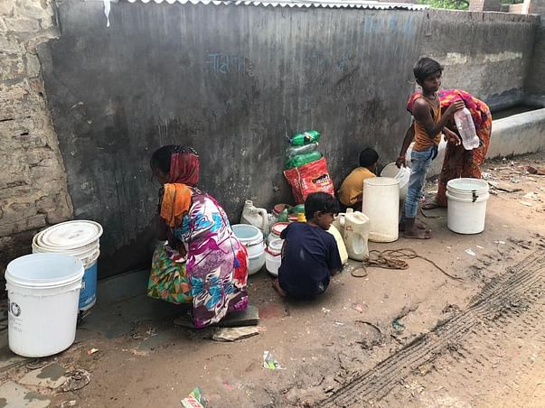 Help fight against water scarcity