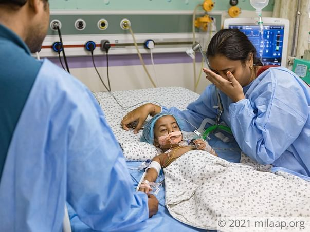 Help Bhavya Recover From Kidney Infection
