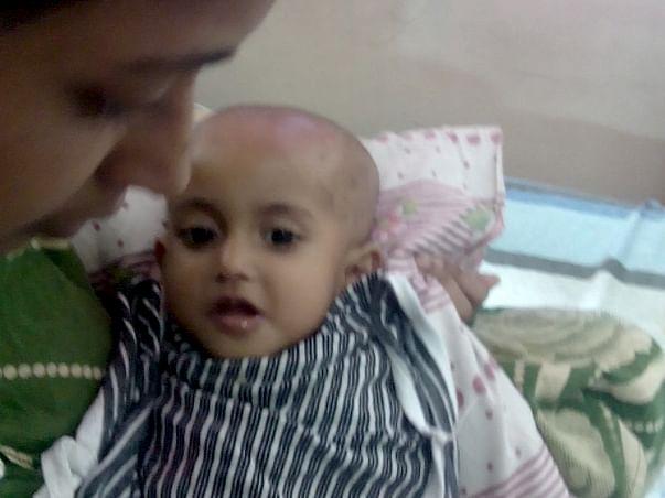 Help Our Baby Undergo Brain Operation