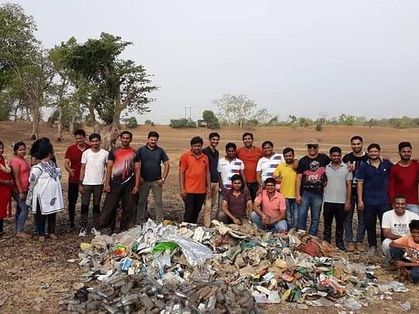 Helping Hand for Environment