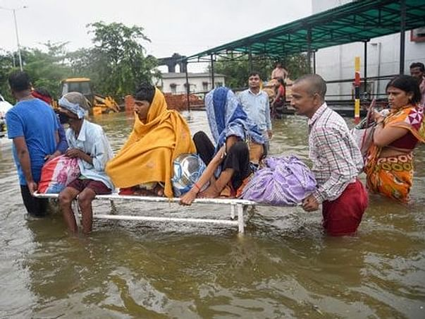 Support the flood -effected families in Bihar #BharatWithBihar
