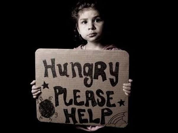 Hunger cry!