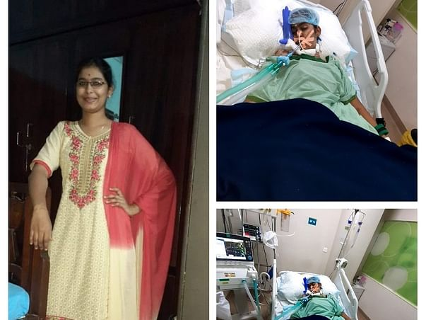 Help My Sister  Lavanya Fighting  Multiple Organ Dysfunction Syndrome.