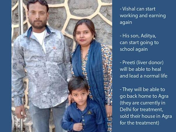 Help End Vishal's Three-Year Struggle With Chronic Liver Disease!
