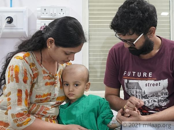 Help Shivraj Fight Acute Lymphoblastic Leukemia